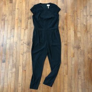 Laundry Shelli Segal Cap Sleeve Jumpsuit Lace